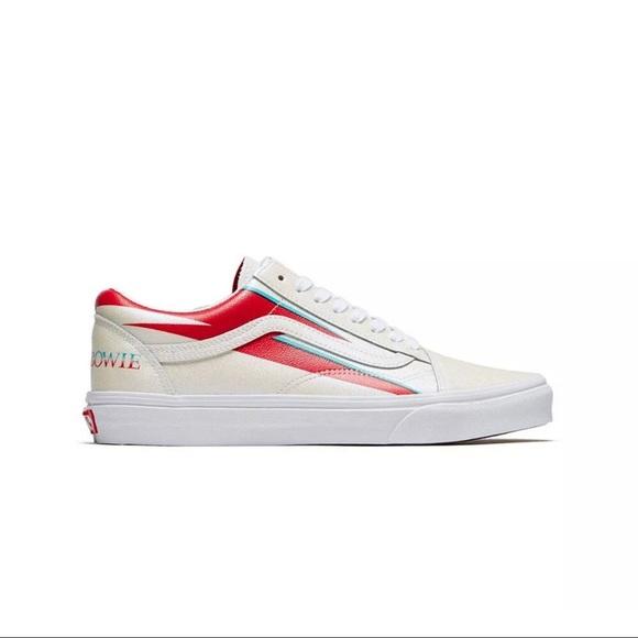 Vans Shoes   David Bowie Old Skool Size